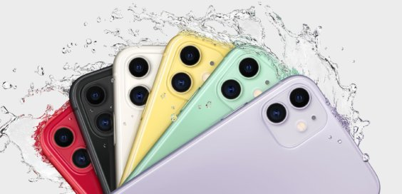 iPhone 11 in allen Farben - Apple