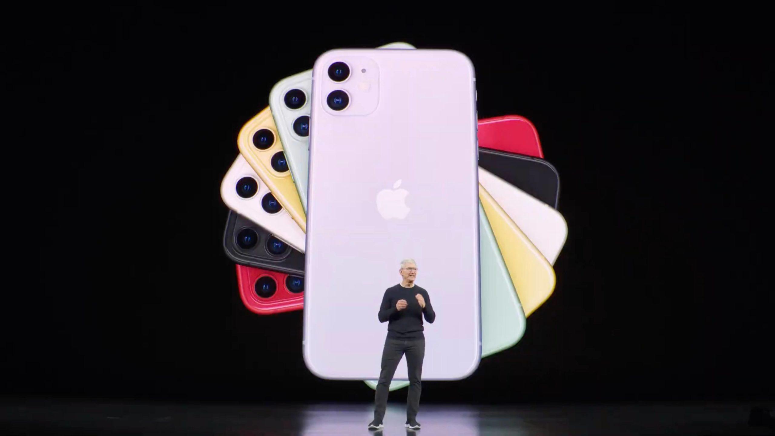 iPhone 11 präsentiert: Dualkamera und sechs Farben