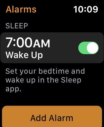 Apple Watch Sleeptracking Hinweise Screenshot - MacRumors