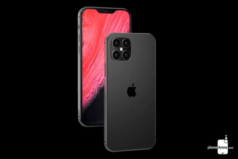 iPhone-12-black PhoneArena Konzept