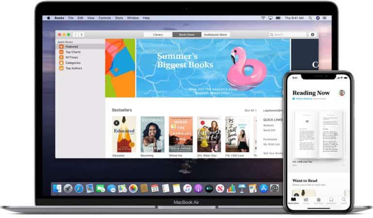 Books app from Apple - Apple