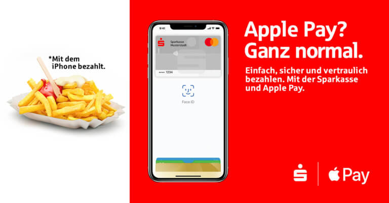 Apple Pay Ganz normal Sparkasse