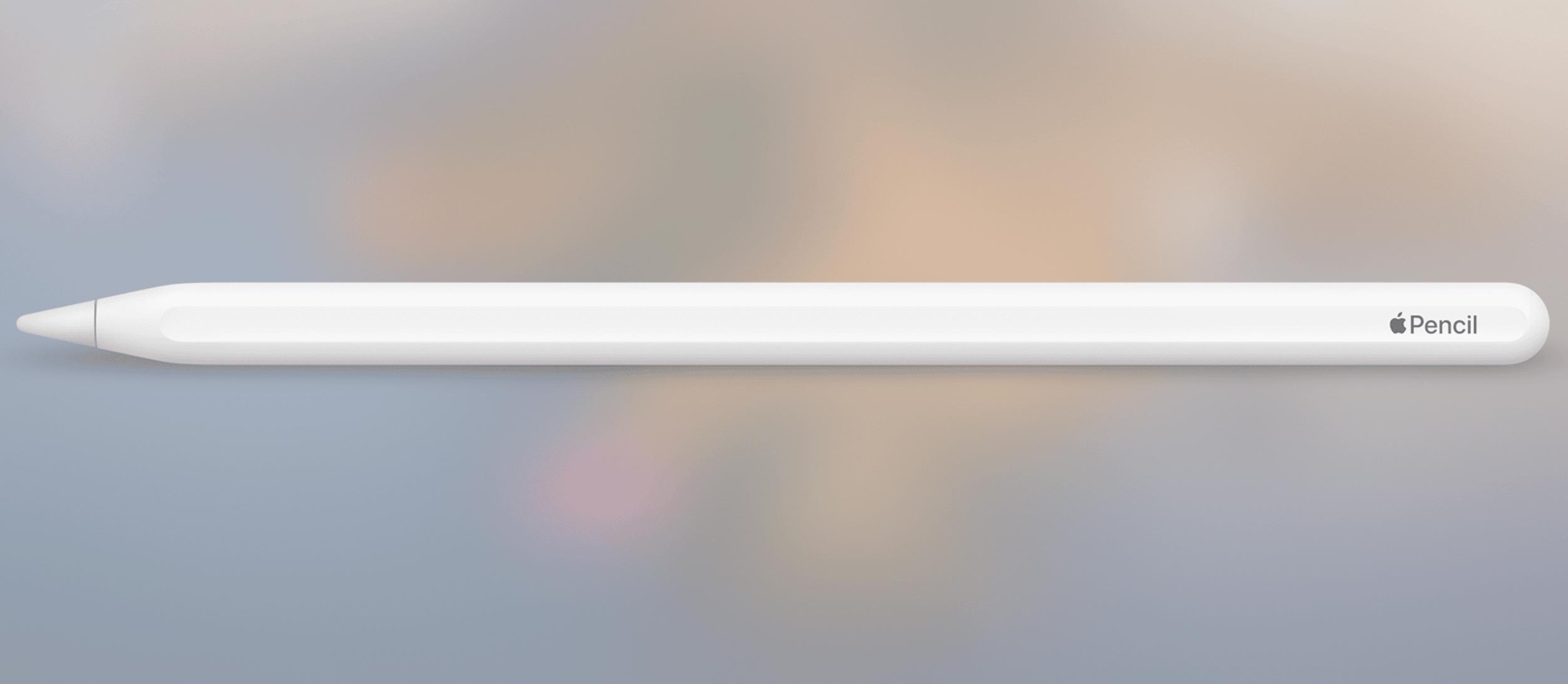 Spannendes Patent: Neuer Apple Pencil mit Touch-Oberfläche?