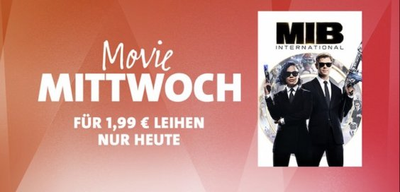 Movie Mittwoch iTunes Man in Black