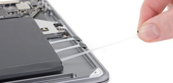 MacBook Air zerlegt - iFixit