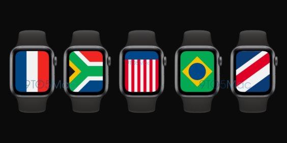 watchOS 7 International Zifferblatt - 9to5Mac