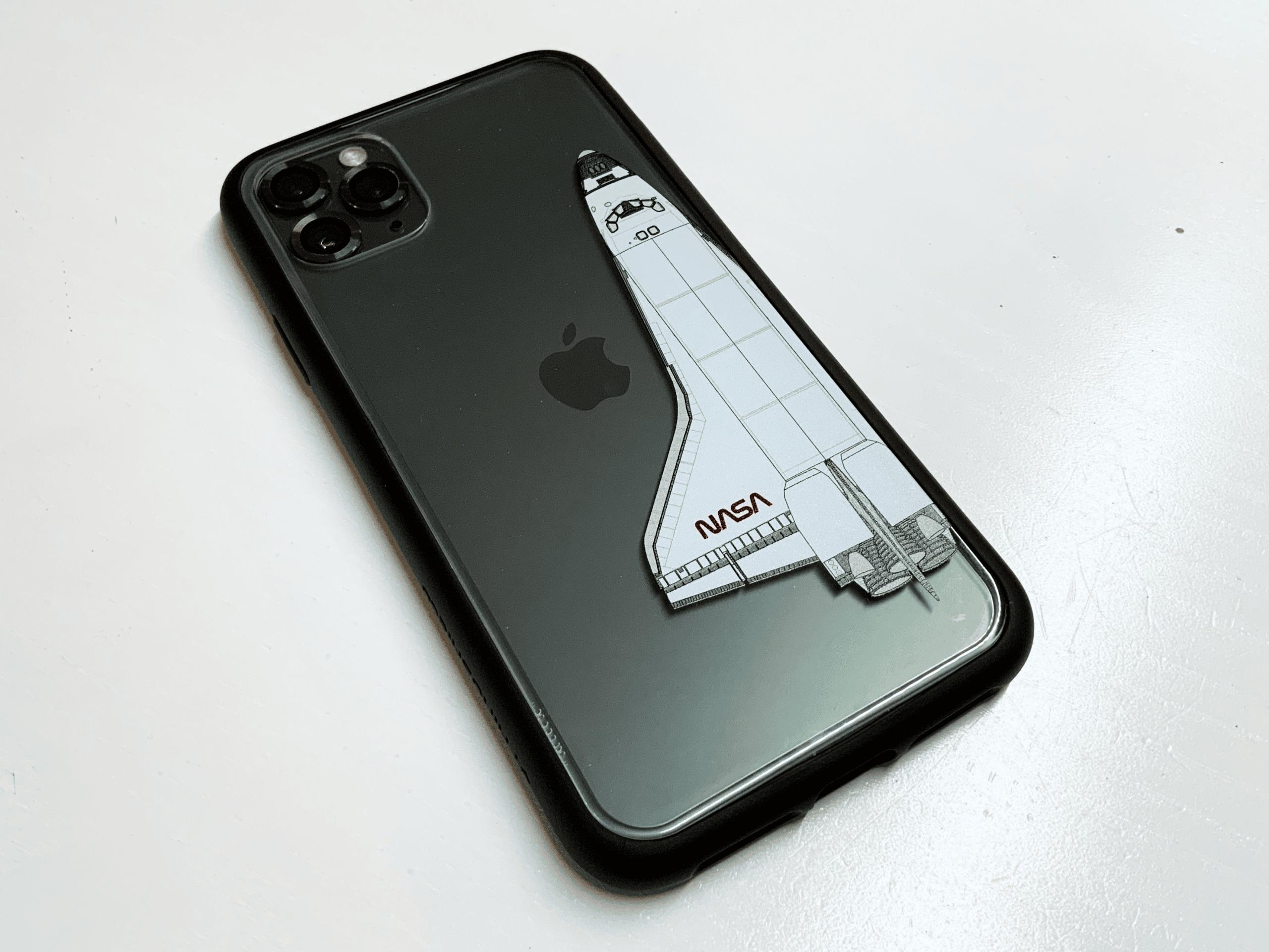 Das Mod NX mit Backplate aus der NASA-Kollektion