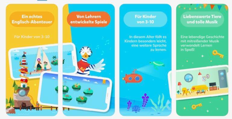 Eduka´s World English for Kids App Store