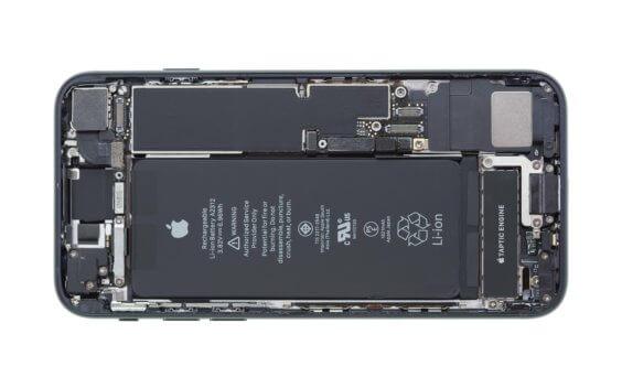 Innenansicht des iPhone SE - iDoc