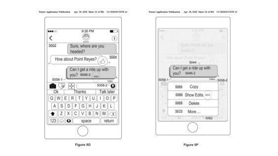 iMessages bearbeiten - US-Patent- und Markenamt