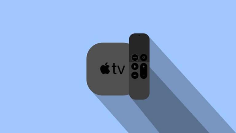 Apple TV mit Fernbedienung