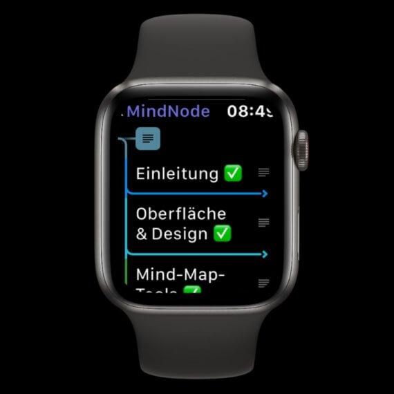 MindNode Apple Watch