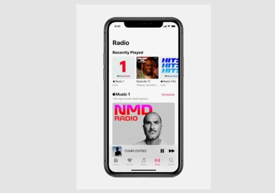 Neue Apple Music Sender - Screenshot