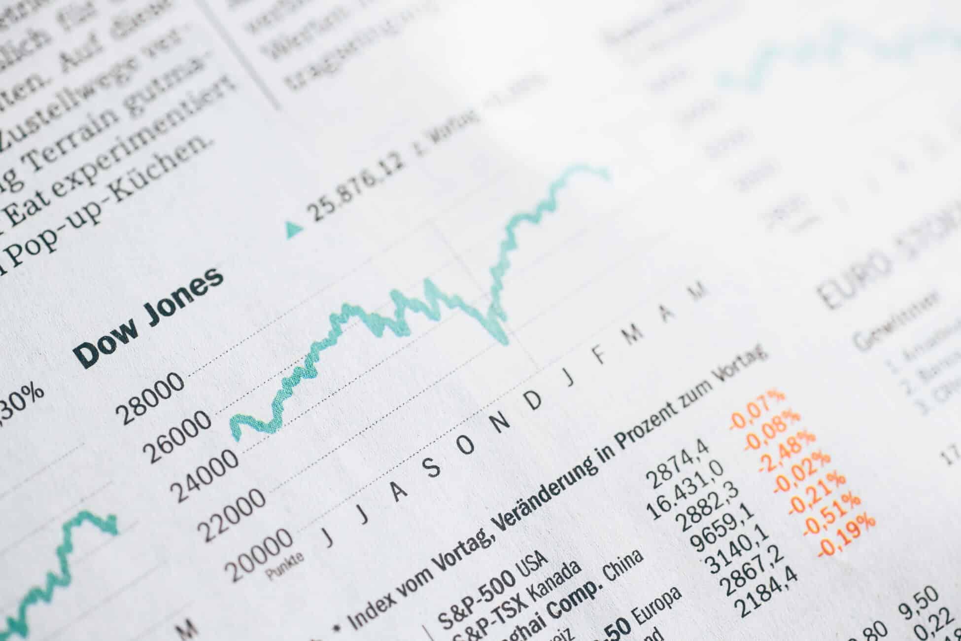 Dow Jones Symbolbild