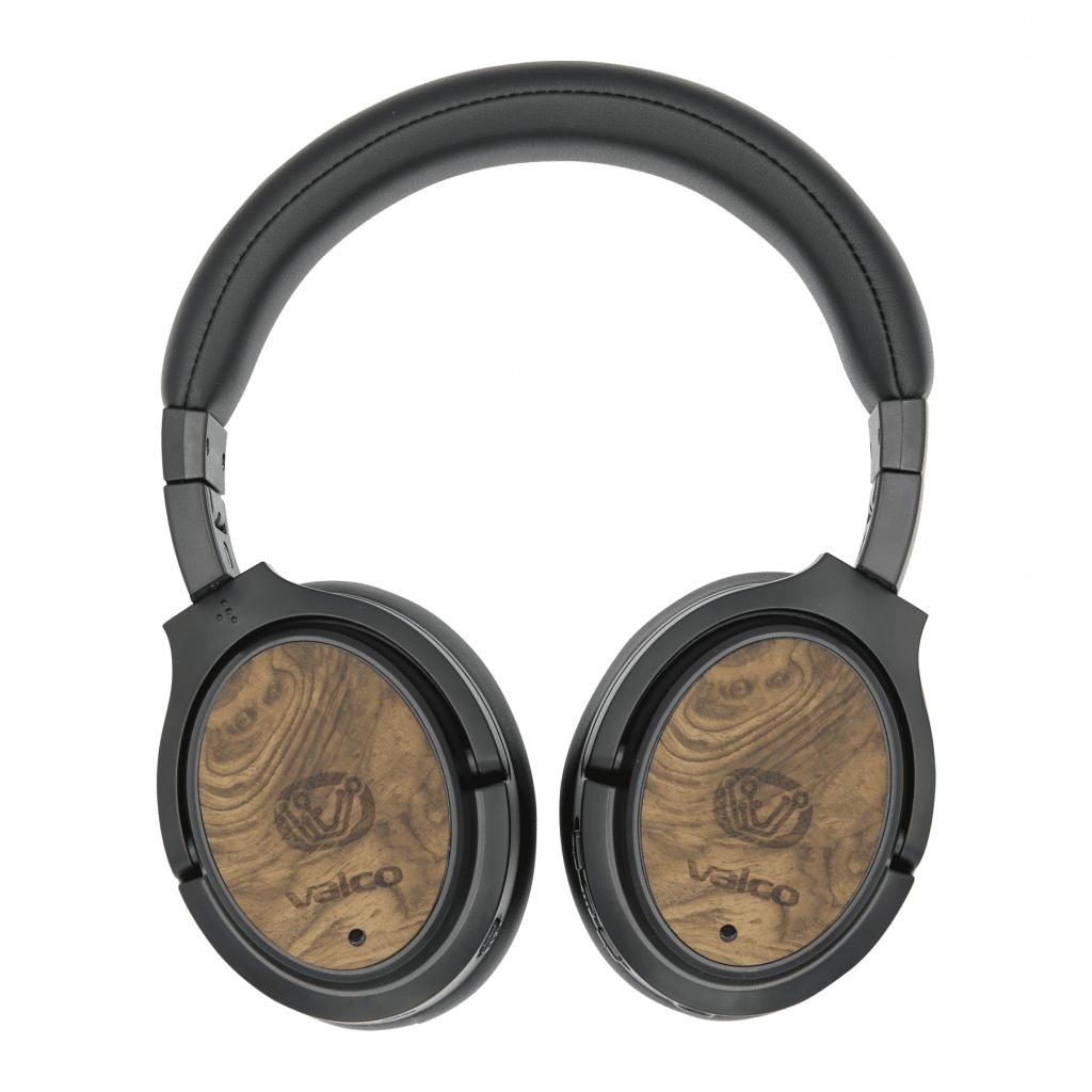 Die Valco-Headphones haben ein schönes Echtholz-Finish.