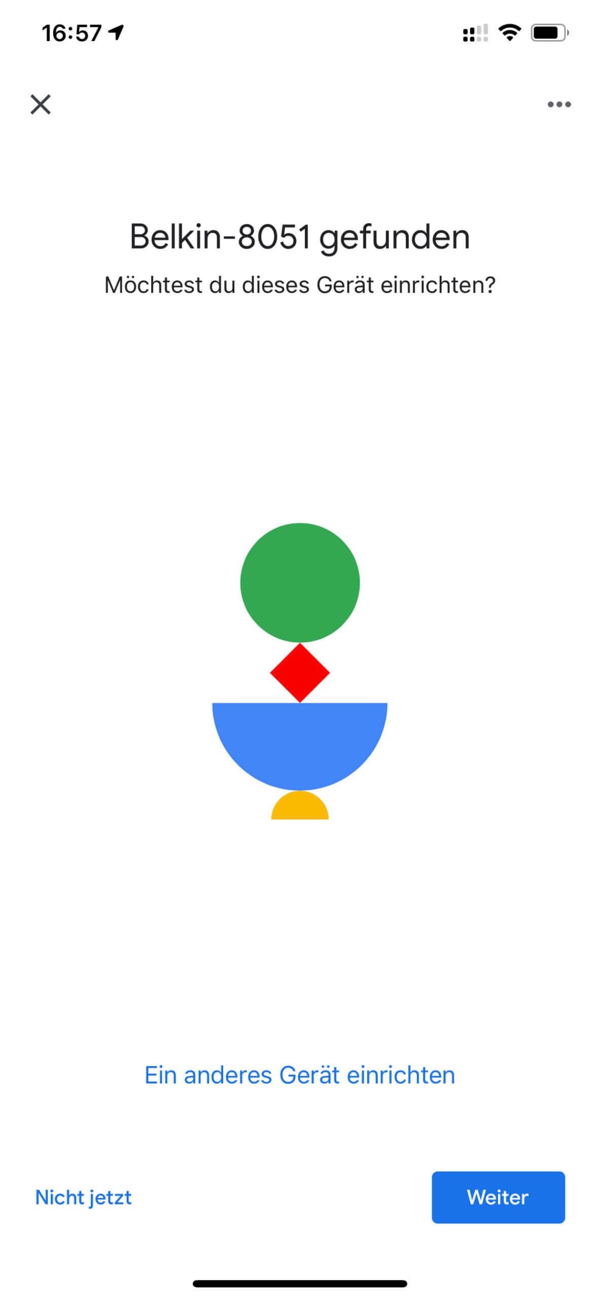 Die Einrichtung mit der Google-Home-App war bei mir anfangs etwas hakelig, hat dann aber funktioniert.