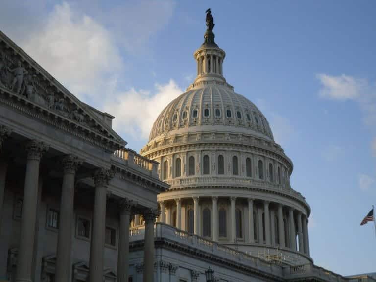 Kapitol Washington - Symbolbild