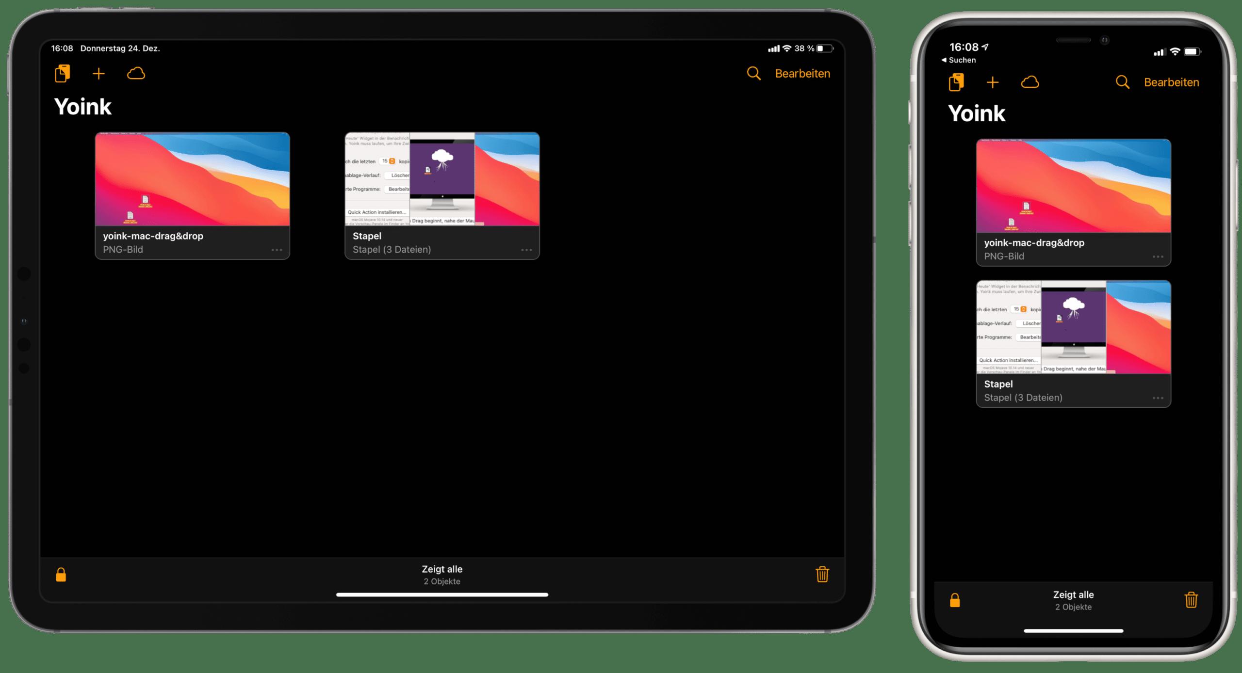 Yoink Sync iCloud