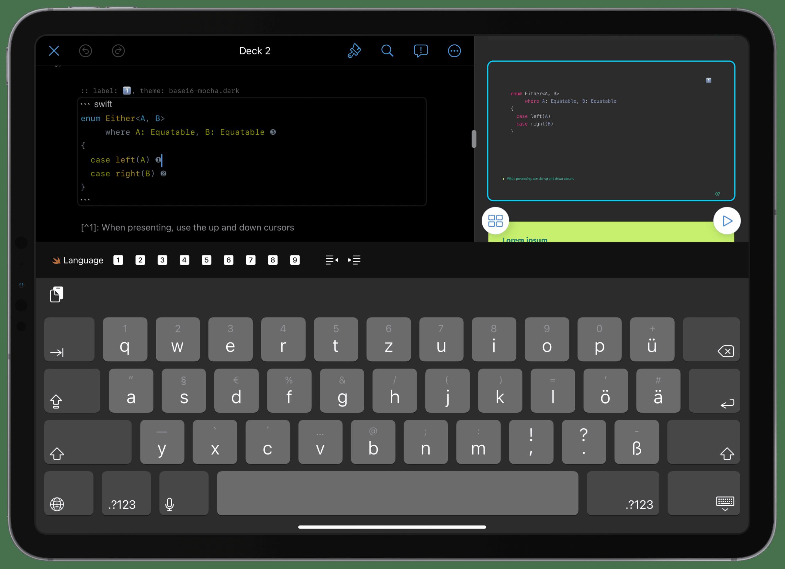 Hyperdeck Code Preview