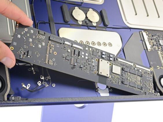 iMac 24 Zoll von innen  - iFixit