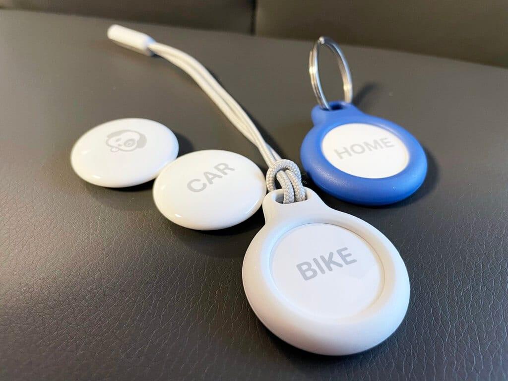 Schlüsselring und Schlaufe sichern den Secure Holder zusätzlich.
