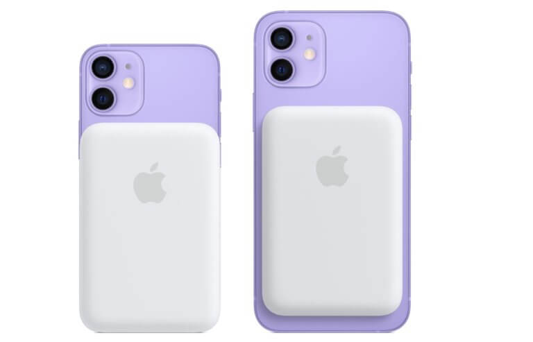 Externe MagSafe-Batterie für iPhone 12- Apple