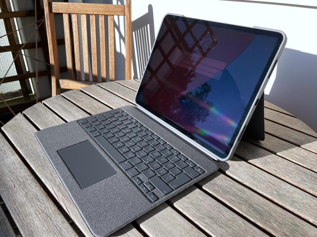 Mit Tastatur und Trackpad wird das Combo Touch zu einem sehr brauchbaren Smart-Keyboard-Konkurrenten.
