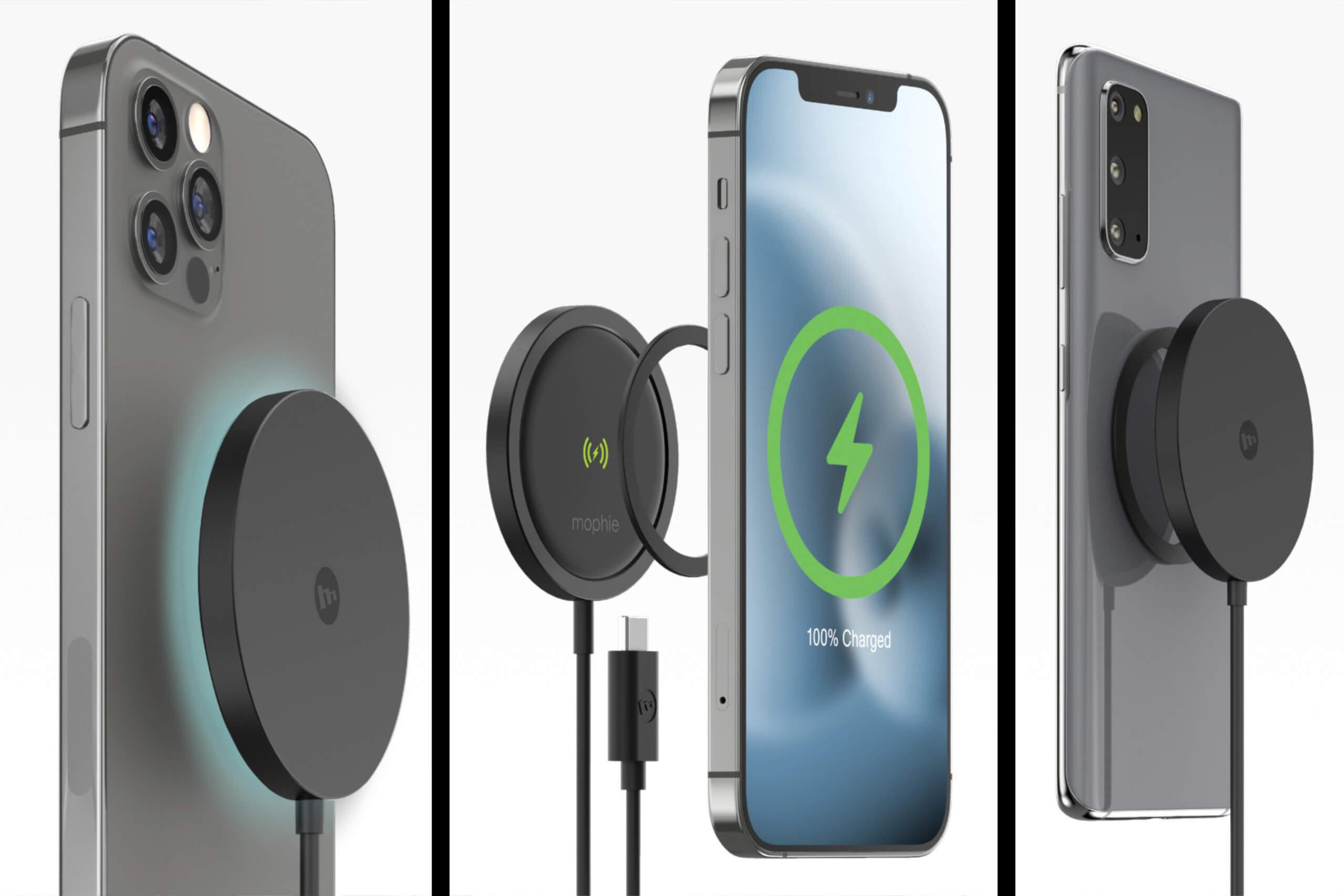 Die Snap+ Ladekabel lassen sich dank der mitgelieferten Magneten an sämtlichen Smartphones befestigen.