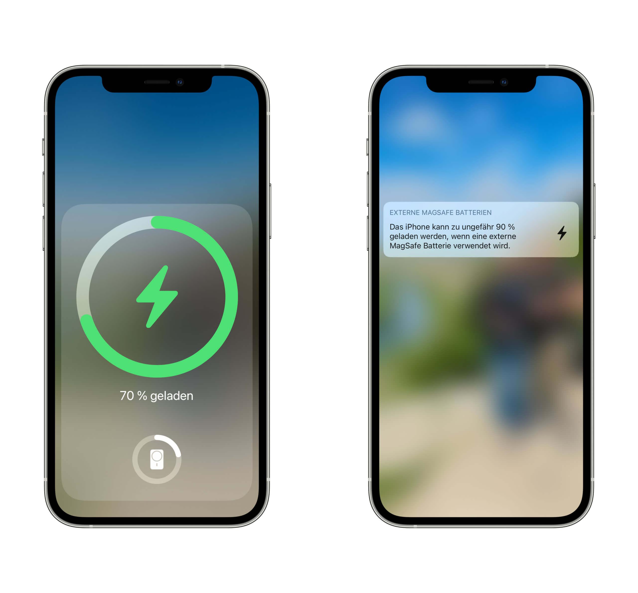 Die kleinen Software-Integrationen des MagSafe Battery Packs sind nett, aber nicht unbedingt notwendig.