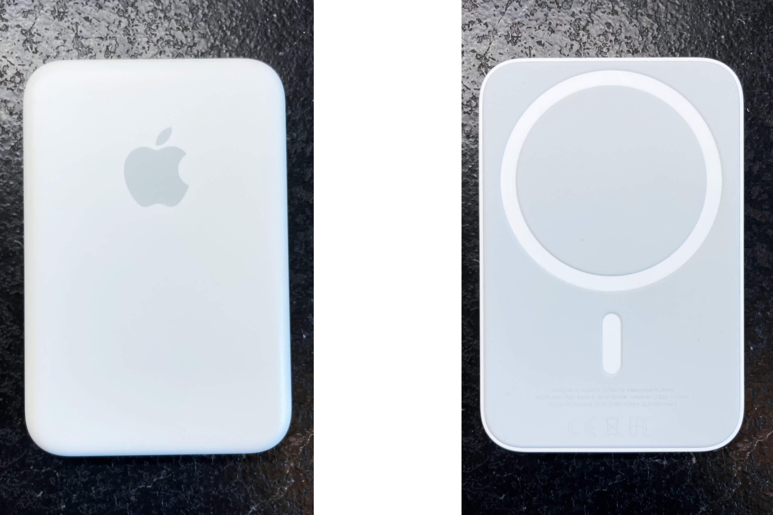 An der Innenseite, die zum iPhone zeigt, ist das Battery Pack mit weichem Stoff überzogen.